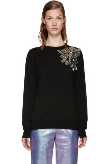 LOEWE - Black Wool Mirror Sweater