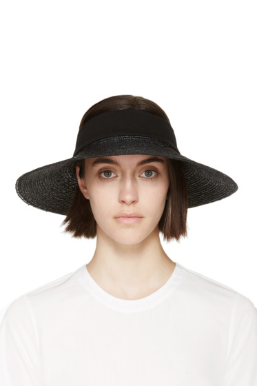 Clyde - Black Straw Dream Visor