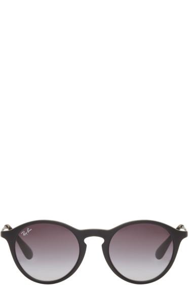 Ray-Ban - Black Round RB4243 Sunglasses