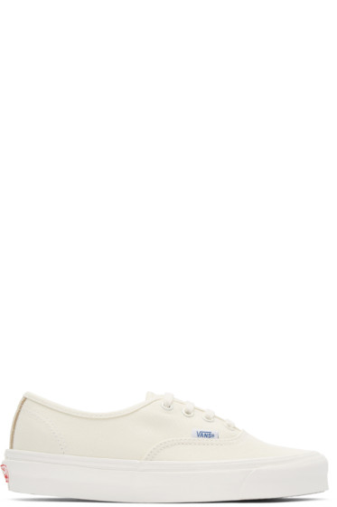 Vans - Ivory Canvas OG Authentic LX Sneakers