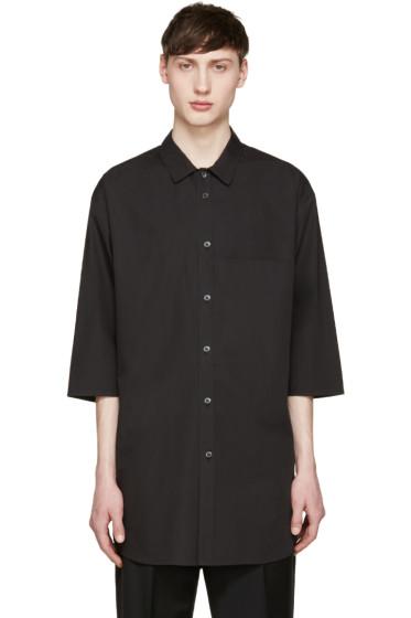 Stephan Schneider - Black Chevron Shirt