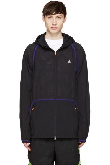 Adidas x Kolor - Black Nylon Jacket