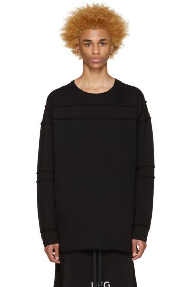 UEG - Black Sliced Pullover