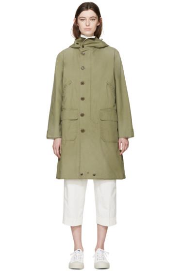 Chimala - Green Military Coat