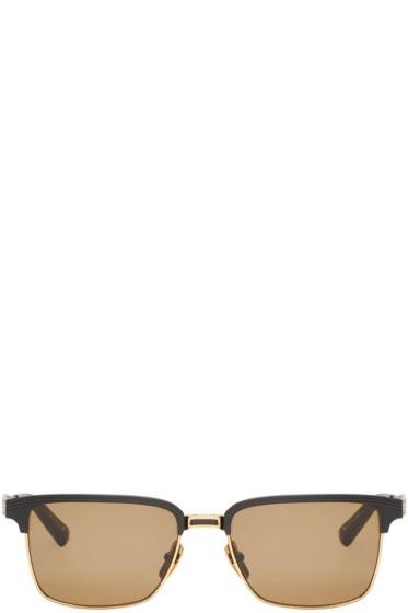 Dita - Black & Gold Aristocrat Sunglasses