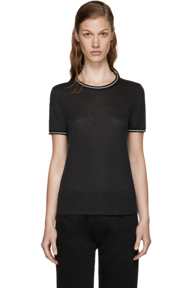 Rag & Bone - Black Two-Tone Steve T-Shirt