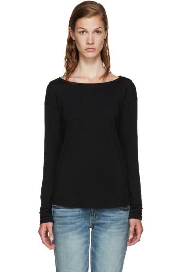 Rag & Bone - Black Classic T-Shirt