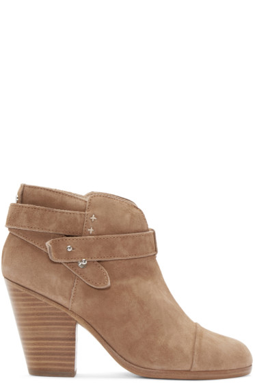 Rag & Bone - Camel Suede Harrow Boots