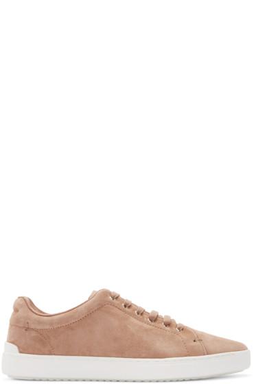 Rag & Bone - Brown Suede Kent Sneakers