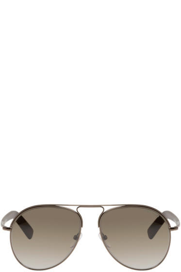 Tom Ford - Gunmetal Cody Aviator Sunglasses