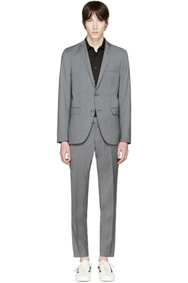 Tiger of Sweden - Grey Wool Harrie Suit