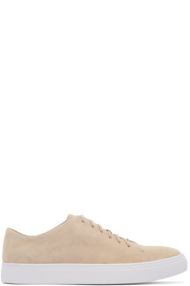 Tiger of Sweden - Tan Suede Sneakers