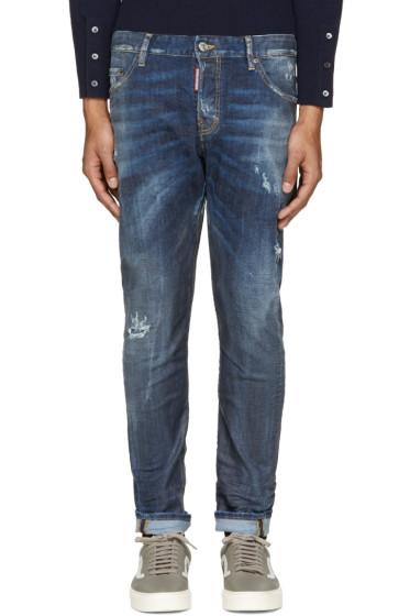 Dsquared2 - Indigo Sexy Twist Jeans