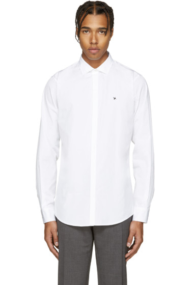 Dsquared2 - White Poplin Barbwire Shirt