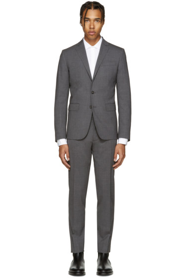 Dsquared2 - Grey Wool Paris Suit