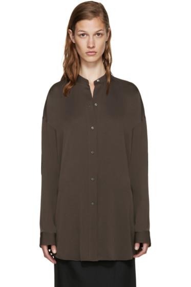 Helmut Lang - Grey Back Knot Shirt