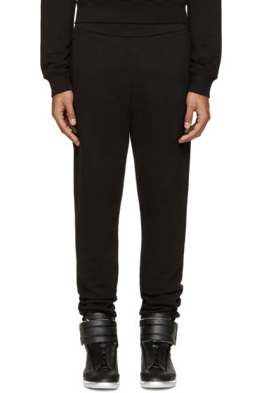 Maison Margiela - Black Cotton Lounge Pants
