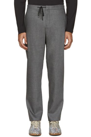 Maison Margiela - Grey Drawstring Trousers