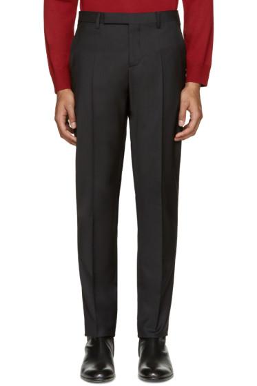 Maison Margiela - Black Wool Trousers