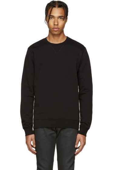 Maison Margiela - Black Elbow Patch Pullover