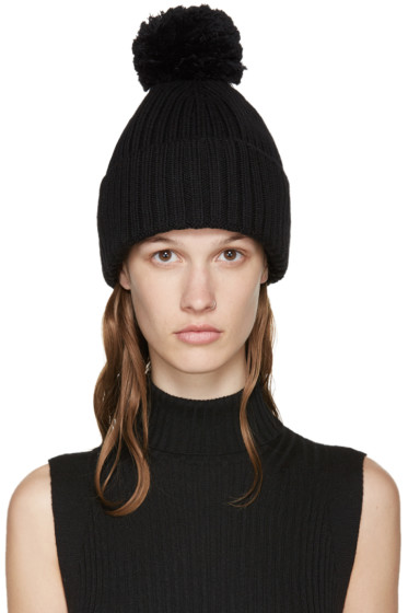 MM6 Maison Margiela - Black Structural Beanie