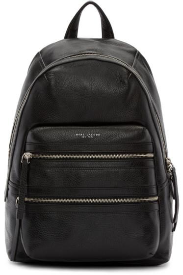 Marc Jacobs - Black Leather Biker Backpack