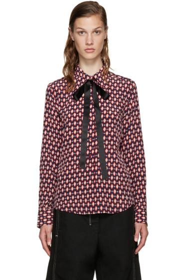 Marc Jacobs - Multicolor Silk Tie Shirt