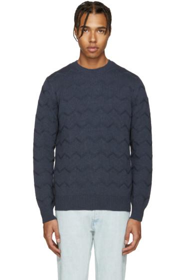 A.P.C. - Navy Schulz Sweater
