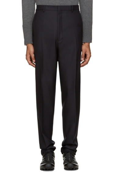 Lanvin - Navy Wool Trousers
