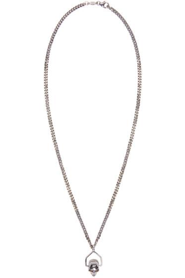 Alexander McQueen - Silver Mini Skull Chain Necklace