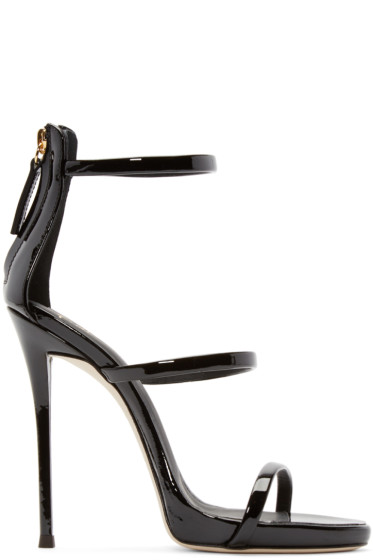 Giuseppe Zanotti - Black Colline Heeled Sandals