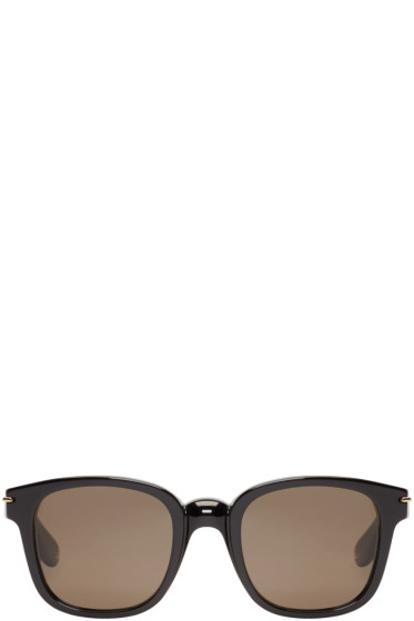 Givenchy - Black Square Acetate Sunglasses