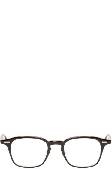 Thom Browne - Black Acetate TB-406 Glasses
