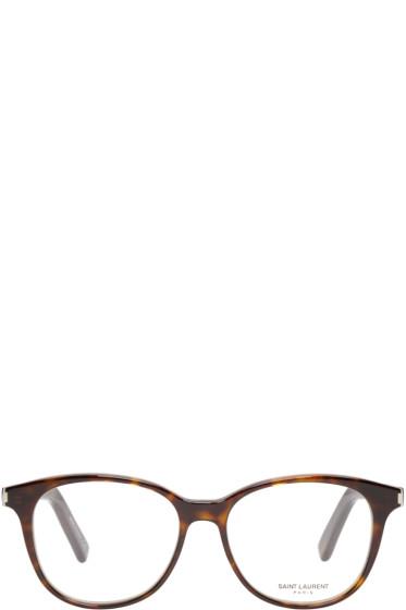 Saint Laurent - Tortoiseshell Classic 9 Optical Glasses