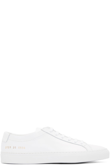 Woman by Common Projects - White Original Achilles Sneakers