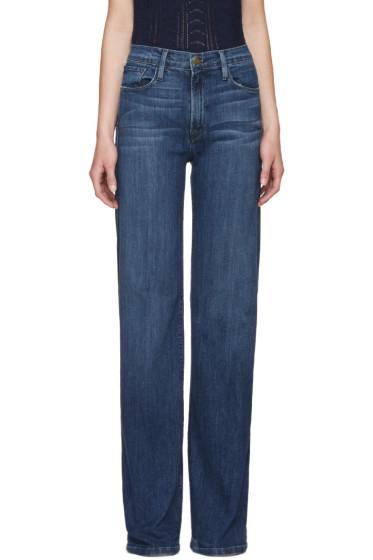 Frame Denim - Blue Le Capri Jeans