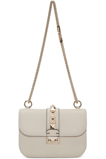 Valentino - Ivory Small Lock Bag