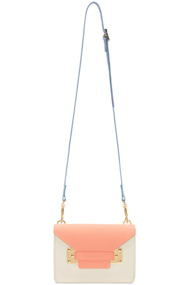 Sophie Hulme - SSENSE Exclusive Tricolor Mini Milner Envelope Bag