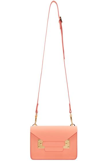 Sophie Hulme - SSENSE Exclusive Pink Mini Milner Envelope Bag