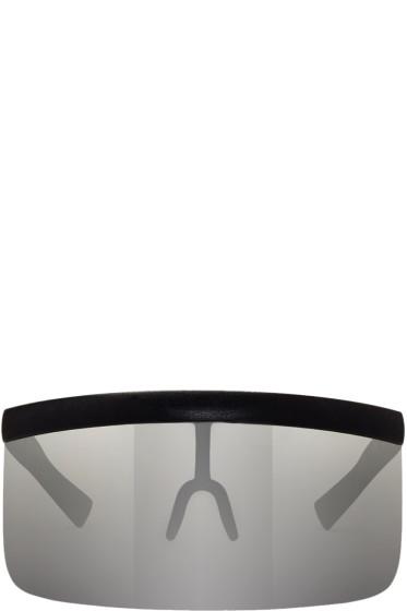Mykita - Black & Silver Bernhard Willhelm Edition Daisuke Sunglasses
