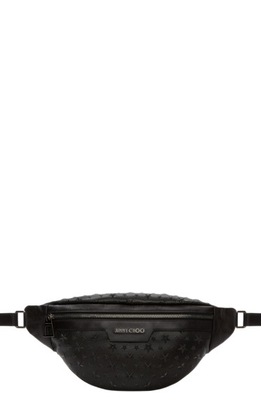 Jimmy Choo - Black Derry Belt Pouch