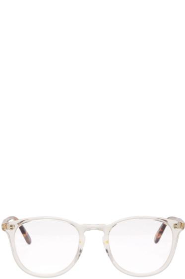 Garrett Leight - Transparent Kinney Glasses