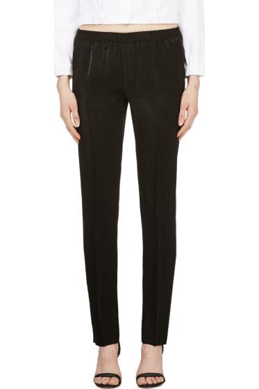 Calvin Klein Collection - Black Satin Ufordyce Irise Enver Pants
