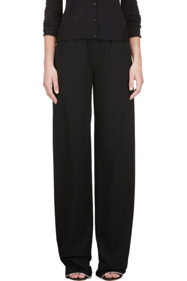 Calvin Klein Collection - Black Telma Fluid Panama Lounge Pants