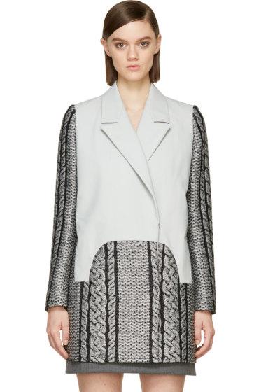 Viktor & Rolf - Grey Cable Knit Coat