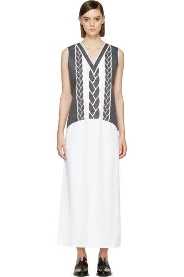 Viktor & Rolf - White Duchess Column Dress