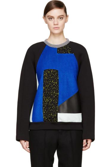 Proenza Schouler - Black Panelled Pullover