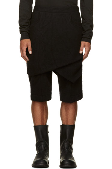 Thamanyah - Wool Knit Razor Shorts