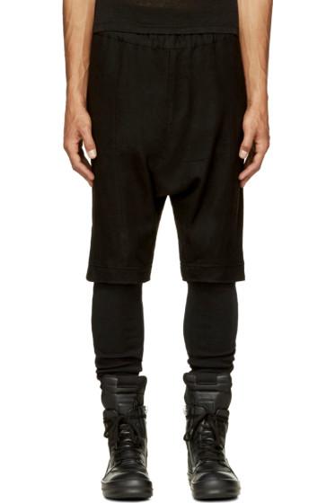 MA Julius - Black Layered Leggings