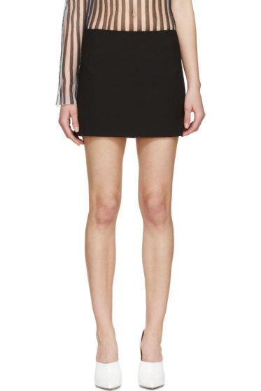 Acne Studios - Black Prato Short Skirt